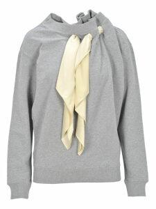 Y/project Y / Project Scarf Detail Sweatshirt