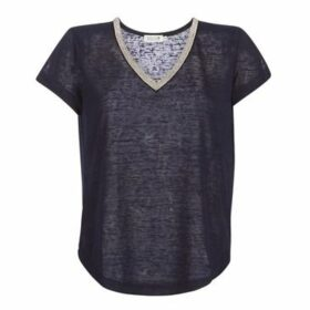 Molly Bracken  ZEDES  women's T shirt in Blue