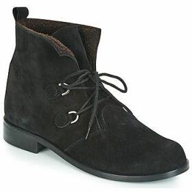 So Size  JATTINE  women's Mid Boots in Black