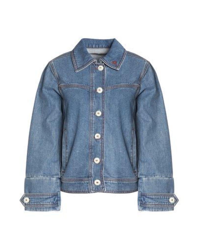 GANNI DENIM Denim outerwear Women on YOOX.COM