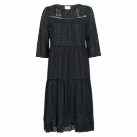 See U Soon  SOTARA  women's Long Dress in Black