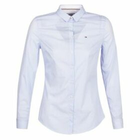 Tommy Jeans  TJW ORIGINAL STRIPE STRETCH SHIRT  women's Shirt in White