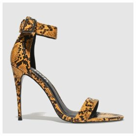 Schuh Orange Druella High Heels
