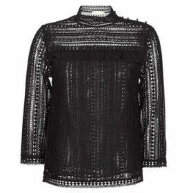 See U Soon  TELICA  women's Blouse in Black