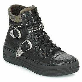 Replay  WATERVILLE  women's Shoes (High-top Trainers) in Black