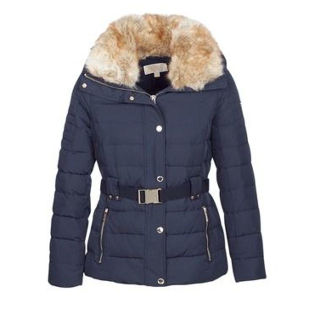 MICHAEL Michael Kors  FITTED BELTED HEAVYDOWN PFFR  women's Jacket in Blue