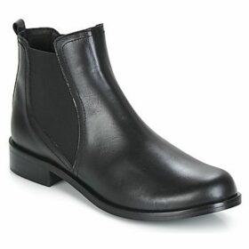 So Size  JEBIE  women's Mid Boots in Black
