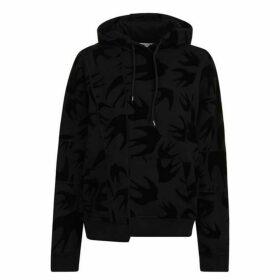 McQ Alexander McQueen Ergonomic Swallow Hooded Sweatshirt