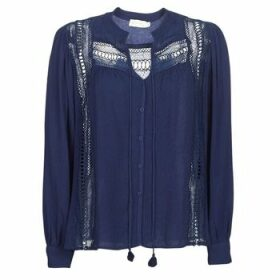 See U Soon  KERINCI  women's Blouse in Blue