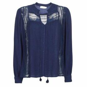 See U Soon  KERINCI  women's Blouse in Blue
