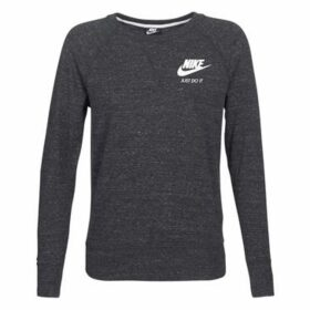 Nike  CREW SPORT  women's Sweatshirt in Black