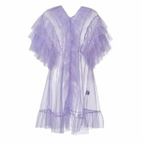 SUPERSWEET x moumi - Tulle Babydoll In Lavender