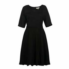 MUZA - Elegant Bubble Hem Dress
