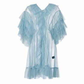 SUPERSWEET x moumi - Tulle Babydoll In Cloudy Blue