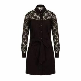 Sophie Cameron Davies - Black Cotton Shirt Dress