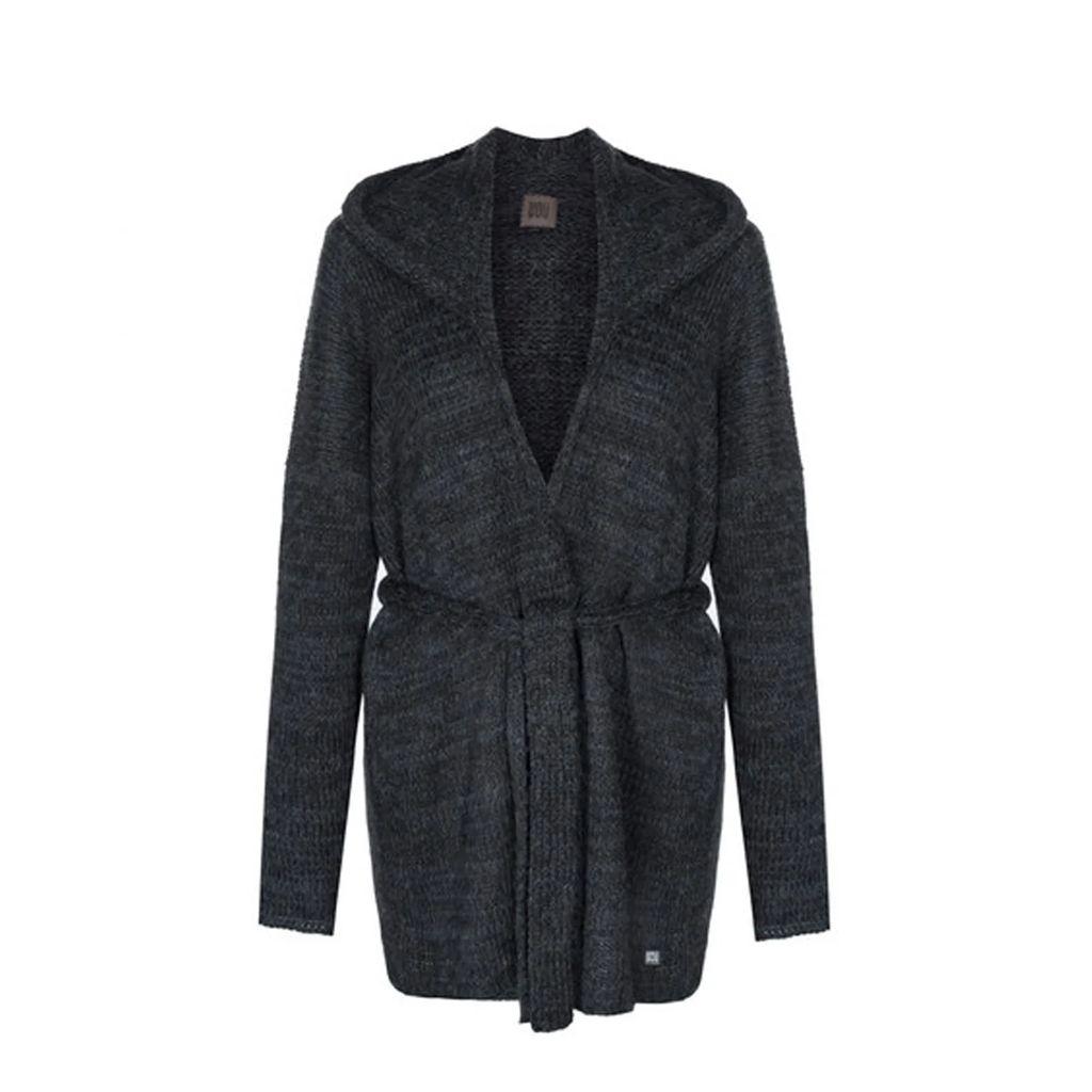 WtR - Massine Gold Oversized Belted Silk Jacket