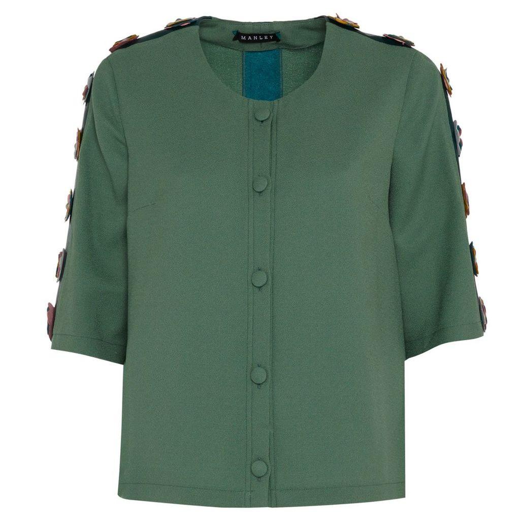 Manley - Tabby Jacket Moss Green