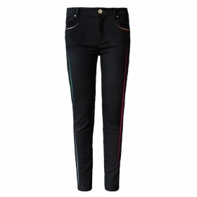 My Pair of Jeans - Neon Embroidered Slim Jeans