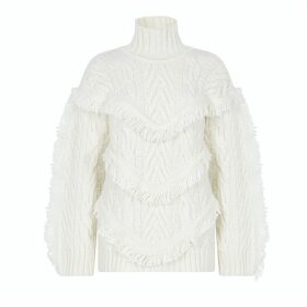 Hayley Menzies - Etta Jumper Cream