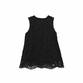 Lindsay Nicholas New York - Lace Top In Black