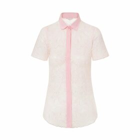 Roses Are Red - Sundays Are For Ever Silk Sleepwear Set Coral