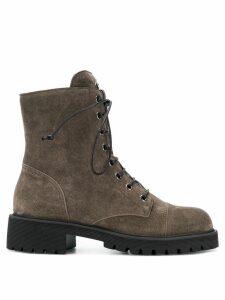 Giuseppe Zanotti lace-up boots - Brown