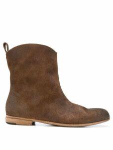 Marsèll cowboy mid calf boots - Brown