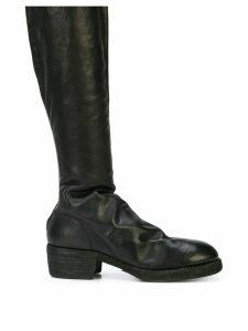 Guidi knee length boots - Black