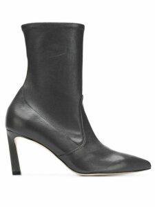 Stuart Weitzman Rapture curved heel boots - Grey