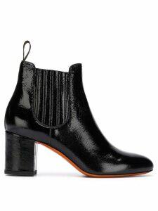 Santoni chelsea boots - Black