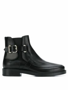 Tod's buckle detail ankle boots - Black