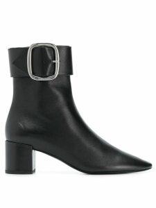 Saint Laurent Loulou 50 ankle boots - Black