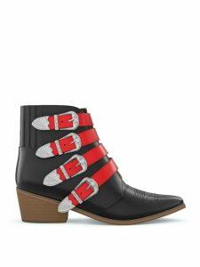 Toga Pulla AJ006 boots - Red