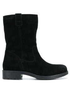 Geox smooth ankle boots - Black
