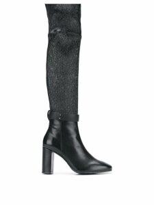 Stuart Weitzman heeled knee-length boots - Black