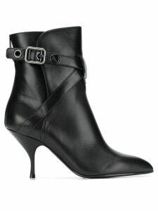 Bottega Veneta pointed toe ankle boots - Black