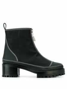 Nicole Saldaña Chris boots - Black