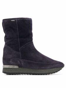 Hogl platform ankle boots - Blue