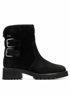 Hogl buckled ankle boots - Black