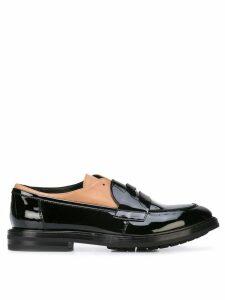 AGL strap detail loafers - Black