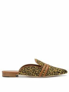 Malone Souliers leopard print mules - Yellow