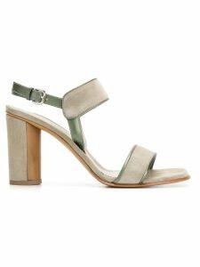 Sartore leather trim sandals - Green