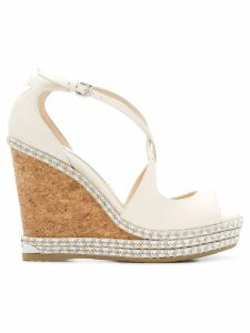 Jimmy Choo Dakota 120 sandals - NEUTRALS