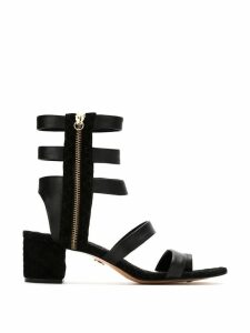 Andrea Bogosian leather sandals - Black