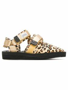 Suicoke NOTS-VHL slippers - Brown