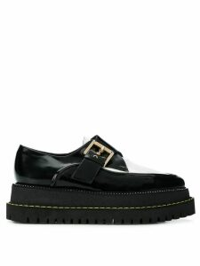 Nº21 buckled creepers shoes - Black