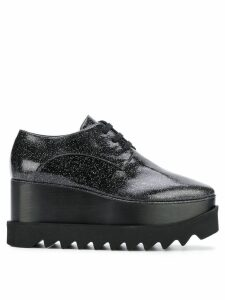 Stella McCartney Black Star lace-up shoes
