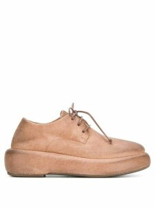 Marsèll flatform lace-up shoes - Brown