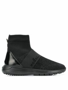 Hogan ankle sock sneakers - Black