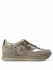 Hogan Chaussure lace-up sneakers - Metallic